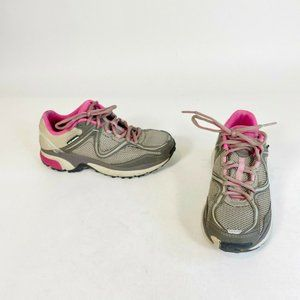 Columbia Techlite Gray Pink Ravenous Trail Running Shoes Athletic Women's US 5